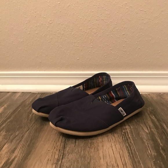 95d3fffdb6d Toms Shoes - Women s Navy Toms